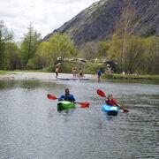 Paddle and canoe-kayak base