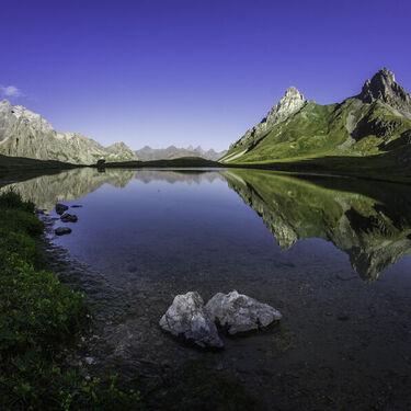 Randonnée of 3 lakes