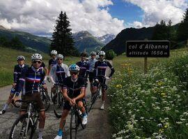 Col d'Albanne and Lake Pramol