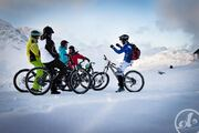 Snow bike and FAT BIKE