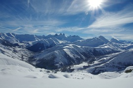 Snow shoeing with a guide : discovery outings / Arvan VTT / Montagne
