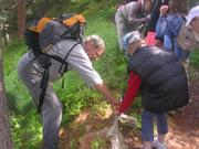 © Sortie adaptée au handicap visuel proposée par le Parc national de la Vanoise - <em>Parc national de la Vanoise</em>