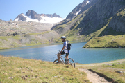 Accompanied rides with mountain bikes with Go Sport