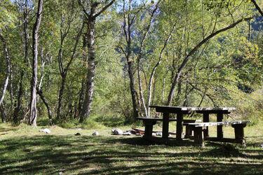 Picnic area of Prés Plan