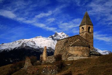 Saint-Pierre d'Extravache church