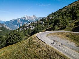 Ascent to Valmeinier 1800