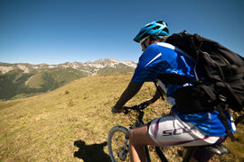 Downhill mountain bike for beginners