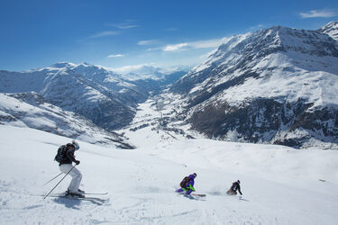 Bonneval sur Arc ski area