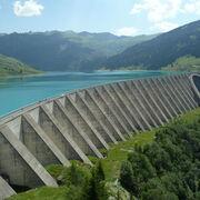 © Roselend dam - <em>MCT - fondation-facim.fr</em>