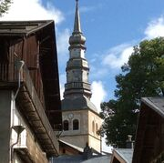 © Tower of the church of Hauteluce - <em>PD - fondation-facim.fr</em>