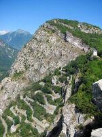 Tour of Le Chatel via the Lacets de Montvernier