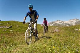 Mountain bike - the Perelles route.