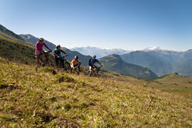 "Mountain bike tour - the ""Sapin"" route"