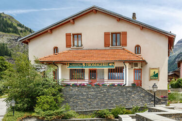 Dairy Cheese shop of Lanslevillard