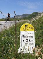 Col de la Madeleine from the south
