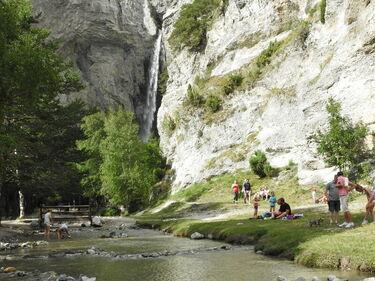 Saint Benoit Waterfall