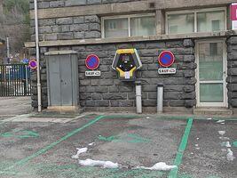 electric car & bike charging station