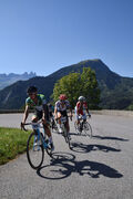 Cycling Timed climb  of La Toussuire