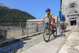 Discovery by mountain bike - « Esseillon(s) », les forts sans effort depuis La Norma