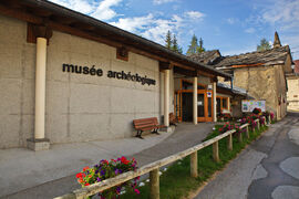 Val Cenis Sollières' museum of archaeology