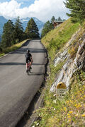 Valfréjus cycling climb - forest trail to the wash - Mountain Collection 2021