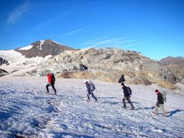 Mountaineering - Glacier trek