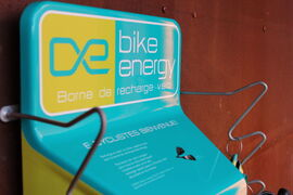 Assisted bicycle Charging stations