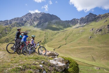 Mountain bike area Haute Maurienne Vanoise
