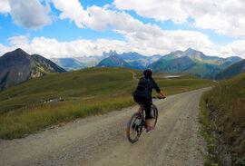 Mountain bike outing with Sébastien