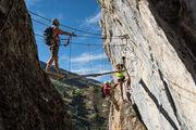 Climbing and Via Ferrata areas