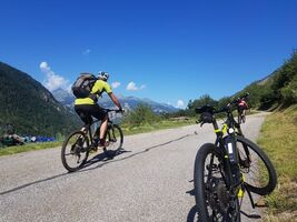 Mountain bike climb to L'Arpont - Mountain Collection 2021